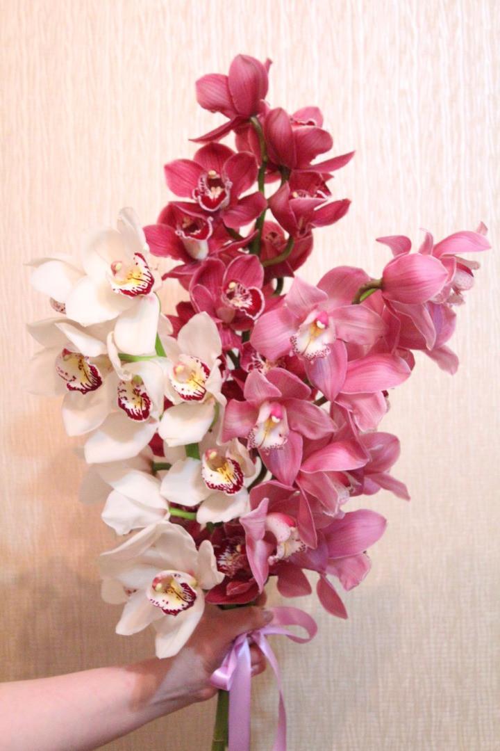 букеты из веток орхидеи фото том, что любое