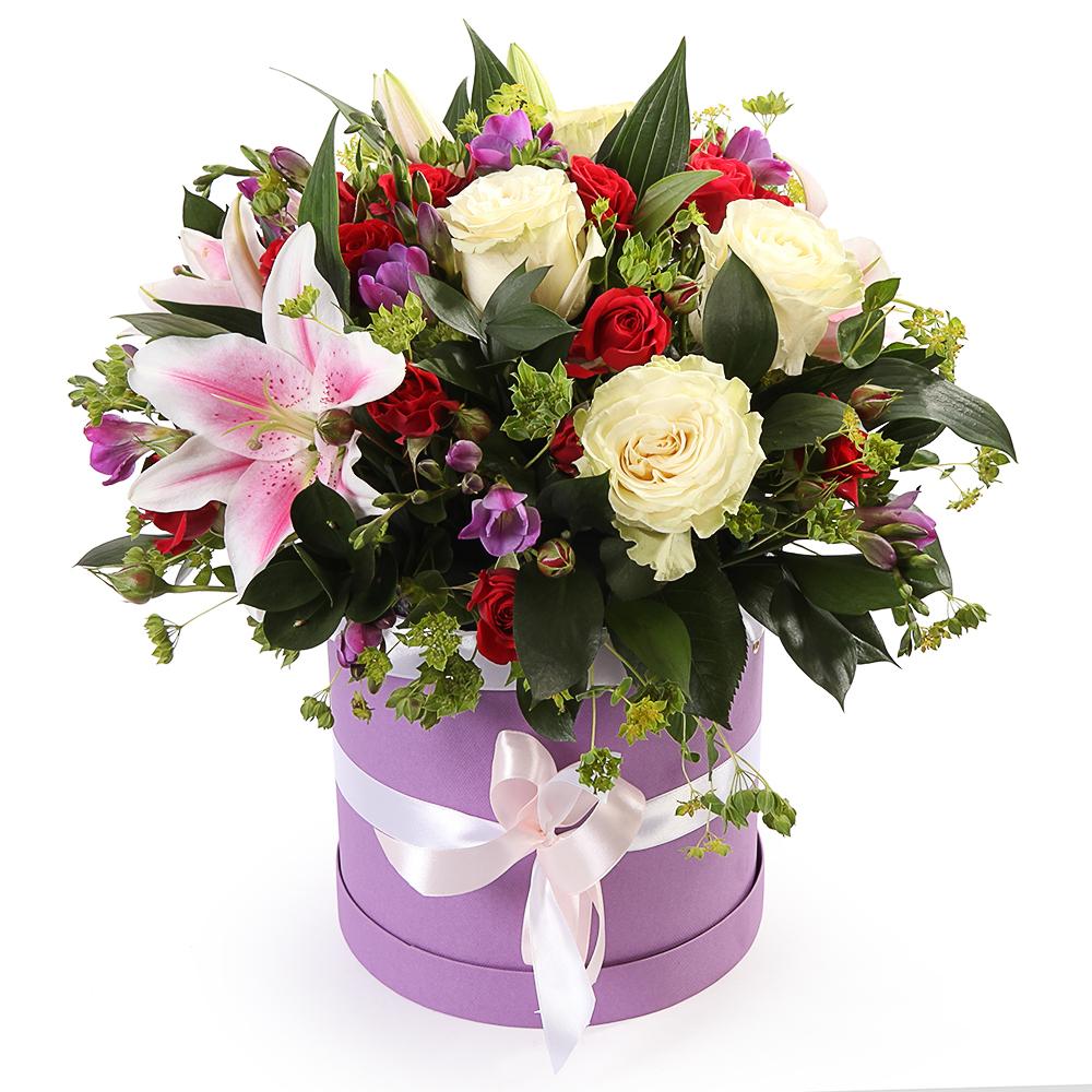 Необычные живые цветы для подарка